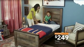 Ashley HomeStore Black Friday in July TV Spot, 'Panel Beds'