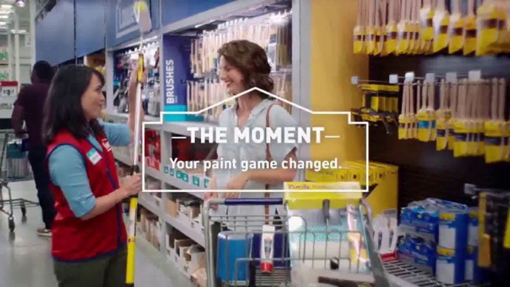 lowe's tv commercial, 'game-changer: valspar stain' - ispot.tv