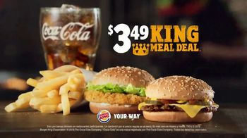 Burger King $3.49 King Meal Deal TV Spot, 'Disfruta' [Spanish] - Thumbnail 8