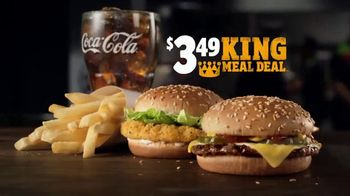 Burger King $3.49 King Meal Deal TV Spot, 'Disfruta' [Spanish] - Thumbnail 2