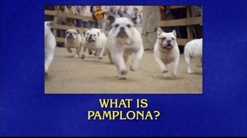 GEICO TV Spot, 'Jeopardy!: Running of the Bulldogs' - Thumbnail 3