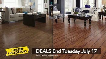 Lumber Liquidators TV Spot, 'Laminate Flooring'