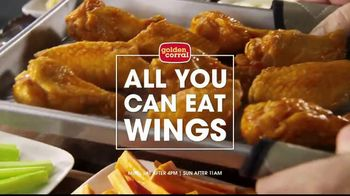 Golden Corral Wing Fest TV Spot, 'All You Can Eat' - Thumbnail 7