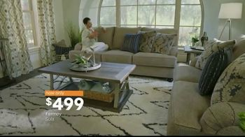 Ashley HomeStore Black Friday in July TV Spot, 'Fermoy Sofa' - Thumbnail 8