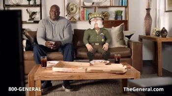 The General TV Spot, 'More Pizza' Featuring Shaquille O'Neal - Thumbnail 1