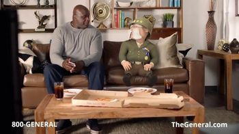The General TV Spot, 'More Pizza' Featuring Shaquille O'Neal - Thumbnail 2
