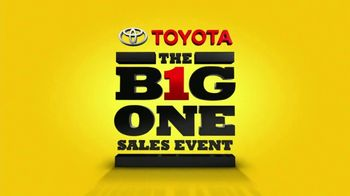 Toyota The Big One Sales Event TV Spot, 'Happy as a Clam' - Thumbnail 7