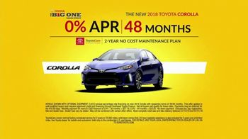 Toyota The Big One Sales Event TV Spot, 'Happy as a Clam' - Thumbnail 9