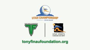 Tony Finau Foundation TV Spot, '2018 Utah Championship' - Thumbnail 8