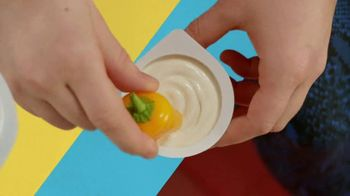 The Laughing Cow Cheese Cups TV Spot, 'Dunk Like You' - Thumbnail 7