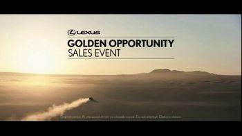 Lexus Golden Opportunity Sales Event TV Spot, 'Lap the Planet'