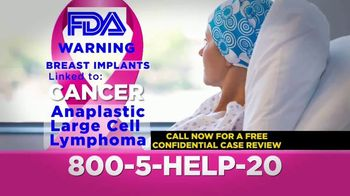 McGowan, Hood & Felder, LLC. TV Spot, 'Breast Implants and Cancer' - Thumbnail 6