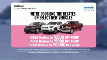 AutoNation Summer Clearance Event TV Spot, 'I Drive Pink: Double Rebate' - Thumbnail 8