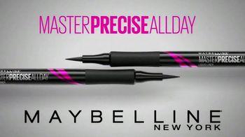 Maybelline Master Precise All Day Eyeliner TV Spot, 'Ultra Precise' - Thumbnail 8