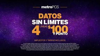 MetroPCS TV Spot, 'Cuatro líneas: teléfonos gratis' [Spanish] - Thumbnail 6