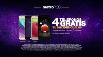MetroPCS TV Spot, 'Cuatro líneas: teléfonos gratis' [Spanish] - Thumbnail 7