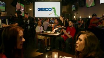 GEICO TV Spot, 'MLB: Hot Wings Prank' - Thumbnail 1