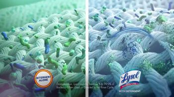 Lysol Laundry Sanitizer TV Spot, 'They Can't Live Without It Protection' - Thumbnail 8