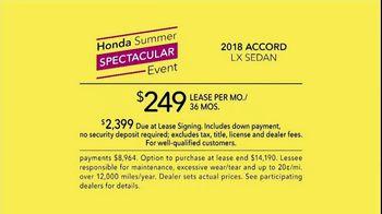 Honda Summer Spectacular Event TV Spot, 'Satisfied Pair' - Thumbnail 9