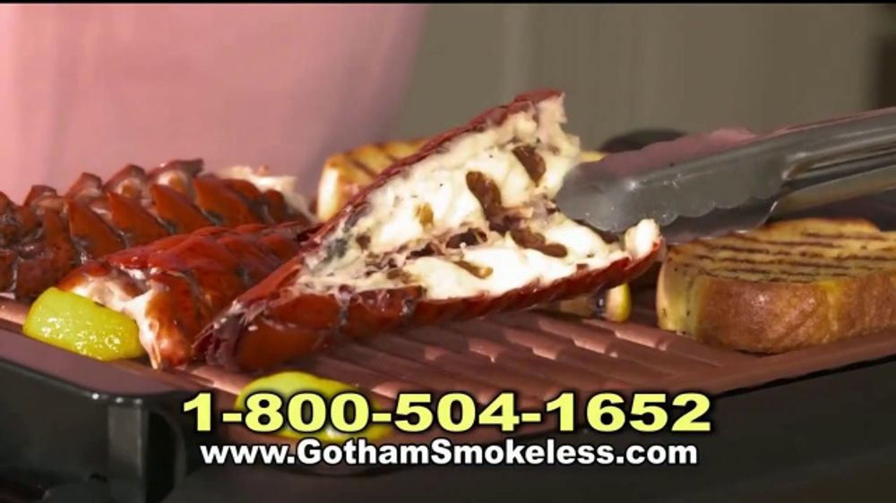 Gotham Steel Smokeless Grill Tv Commercial Fire Drill