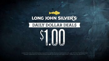 Long John Silver's Daily Dollar Deals TV Spot, 'Different Deals Every Day' - Thumbnail 5