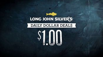 Long John Silver\'s Daily Dollar Deals TV Spot, \'Different Deals Every Day\'