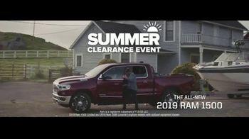 Ram Trucks Summer Clearance Event TV Spot, 'It's Simple: 2019 Ram 1500'