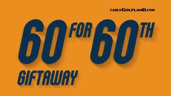 Carl's Golfland 60 for 60th Giftaway TV Spot, 'Ireland Waits for You' - 150 commercial airings