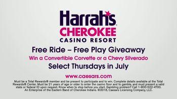 Harrah's Cherokee Casino Resort TV Spot, 'Free Ride - Free Play Giveaway' - Thumbnail 10