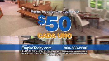 Empire Today Venta de Cuartos TV Spot, 'Actualiza' [Spanish]