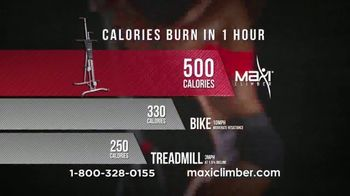 MaxiClimber TV Spot, 'Fat-Blasting Workout' - Thumbnail 6