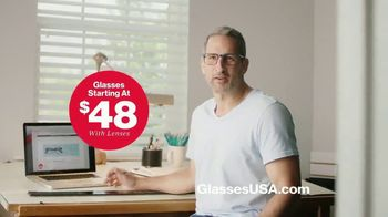 GlassesUSA.com TV Spot, 'I Never Knew I Could Buy Glasses Online' - Thumbnail 2