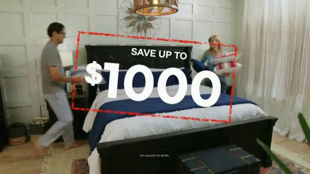 Ashley Homestore Black Friday In July Tv Commercial Queen