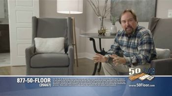 50 Floor Free Installation Sale TV Spot, 'Pet-Friendly Products'