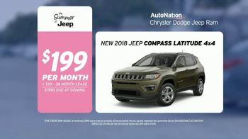AutoNation Summer of Jeep TV Spot, 'I Drive Pink: 2018 Compass Latitude' - Thumbnail 8