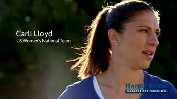Hand and Stone Christmas in July TV Spot, 'Stressful' Feat. Carli Lloyd - Thumbnail 1