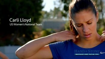 Hand and Stone Christmas in July TV Spot, 'Stressful' Feat. Carli Lloyd - Thumbnail 2