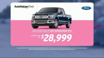 AutoNation TV Spot, 'I Drive Pink: 2018 Ford F-150' Song by Andy Grammer - Thumbnail 7