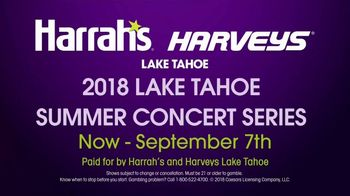 Harrah's Harveys TV Spot, '2018 Lake Tahoe Summer Concert Series' - Thumbnail 9