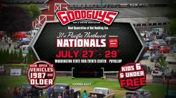 Goodguys Pacific Northwest Nationals TV Spot, '2018 Washington State Fairgrounds: Next Generation' - Thumbnail 8