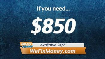 WeFixMoney.com TV Spot, 'Money by Tomorrow' - Thumbnail 1