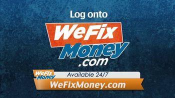 WeFixMoney.com TV Spot, 'Money by Tomorrow'