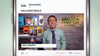 DEALBOSS TV Spot, 'Amazon Prime Day Is Here' - Thumbnail 2