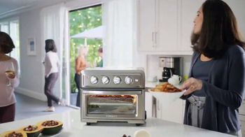 Cuisinart Air Fryer Toaster Oven TV Spot, 'Crunch Without the Calories' - Thumbnail 1