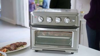 Cuisinart Air Fryer Toaster Oven TV Spot, 'Crunch Without the Calories' - Thumbnail 4