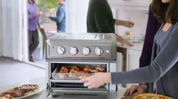 Cuisinart Air Fryer Toaster Oven TV Spot, 'Crunch Without the Calories'