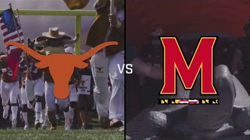 The Washington Redskins TV Spot, 'FedEx Field: Texas vs. Maryland'