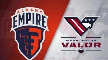 Albany Empire TV Spot, 'Washington Valor' - 20 commercial airings