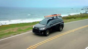 2018 Toyota Highlander TV Spot, 'Live With Peace of Mind' [T2] - Thumbnail 1
