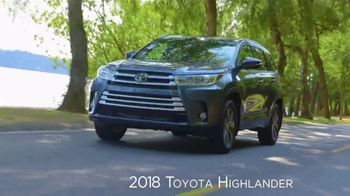 2018 Toyota Highlander TV Spot, 'Live With Peace of Mind' [T2] - Thumbnail 5
